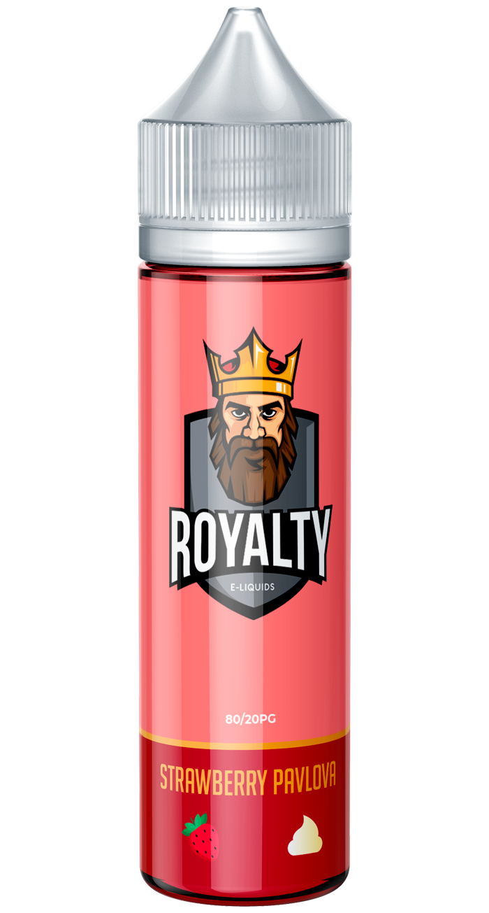 Strawberry Pavlova Royalty E-liquids